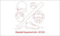 Baseball equipment e2e