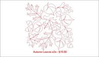 Autumn Leaves e2e