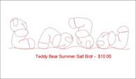 Teddy Bear Summer Salt brdr