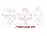 African Masks brdr