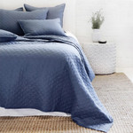 Pom Pom at Home Hampton Coverlet _ Navy