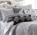 Levtex Carlisle Grey Pillow Sham