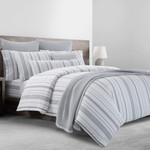 Kassatex Venice Washed Percale Duvet Cover