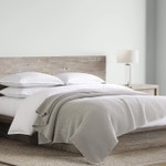Kassatex Locanda Bed Blanket - Dophin Grey