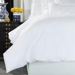 Lili Alessandra Bella Duvet Cover - White Cotton