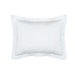 Lili Alessandra Bella Standard Sham  - White Cotton