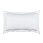 Lili Alessandra Bella King Sham  - White Cotton