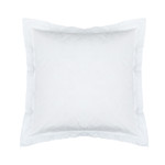 Lili Alessandra Bella Euro Sham  - White Cotton