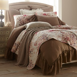 Amity Home Tipton Oversized King Matelasse Coverlet - Taupe