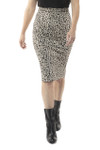Yala Geneva Midi Pencil Skirt - Leopard