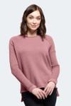 Yala Keri Organic Cotton Raglan Sweatshirt - Cameo
