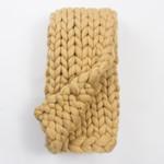 Amity Home Ava Chunky Throw - Maize