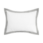 Elisabeth York Digby Pillow Sham - Dove