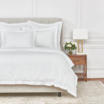 Elisabeth York Whitaker Duvet Cover - Dove