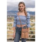 Liz Soto Abby Sand Backpack / Cross Body