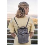 Liz Soto Abby Grey Backpack / Cross Body