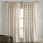 "Amity Home Astrid Curtain 96""  - Grey"