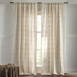 "Amity Home Astrid Curtain 96""  - Natural"