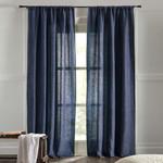 "Amity Home Bryce linen Curtain 96"" - Indigo"