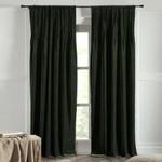 """Amity Home Ethan Velvet Curtain 96"""" - Kale"""