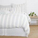 Pom Pom at Home Carter Duvet Cover - Ivory/Denim