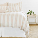Pom Pom at Home Carter Duvet Cover - Ivory/Amber