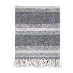 Pom Pom at Home Aspen Throw -Grey/Ivory
