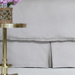 Lili Alessandra Bloom Tailored Bed Skirt - Raffia Linen