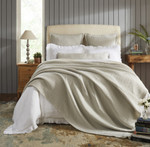 Orchids Lux Home Molly Blanket - Beige