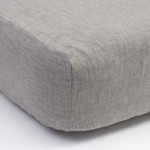 Amity Home Linen Box Spring Cover - Grey Chambray