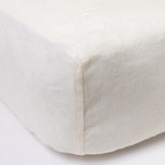 Amity Home Linen Box Spring Cover - Ivory
