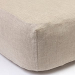 Amity Home Linen Box Spring Cover - Natural
