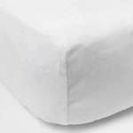 Amity Home Linen Box Spring Cover - White