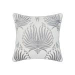 Elisabeth York Nova Decorative Pillow - Silver
