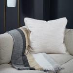 Ann Gish Macau Raw-Edge Pillow
