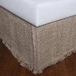 Amity Home Trawick Linen Bedskirt - Natural