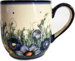 Boleslawiec Polish Pottery Ladies Mug - Wild Field