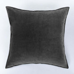 Amity Home Sloane Square Pillow - Charcoal