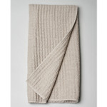 Amity Home Catalina Linen Baby Quilt - Natural