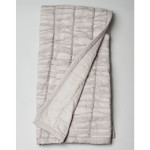 Amity Home Ruched Baby Quilt - Grey