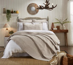 Orchids Lux Home Laysan Coverlet - Dune