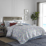 Southern Tide Dory Lane Blue Comforter Set