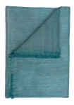 DownTown Company Alpaca Blend Throw - Teal