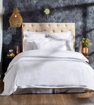 Orchids Lux Home Sienna Duvet Cover - White