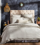 Orchids Lux Home Sienna Duvet Cover - Grey