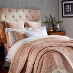 Orchids Lux Home Lola Quilt - Rose