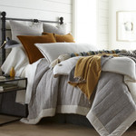 Amity Home Gill Oversize King Quilt - Grey