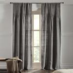 Amity Home Ranier Linen Curtain - Grey