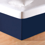 C&F Tailored Bed Skirt - Blue