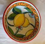 Sambuco Ceramic Bowl 15cm - Limoni